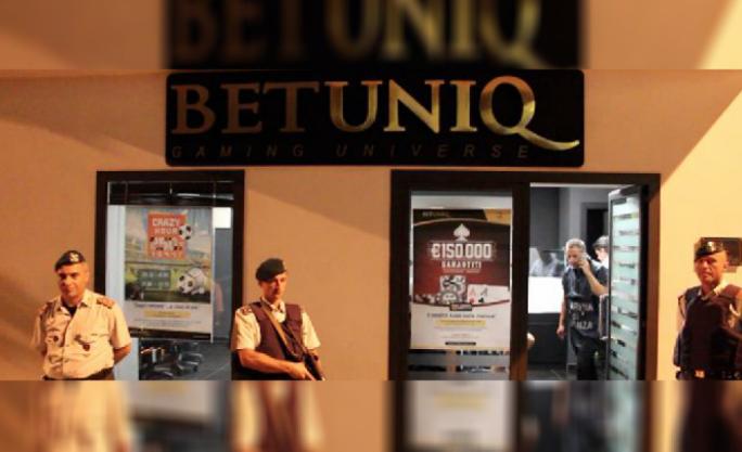 betuniq_police_sting_reggio_calabria_Malta gaming Sector
